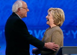Bernie and Hillary